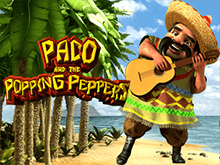 Онлайн автомат Paco And Popping Peppers